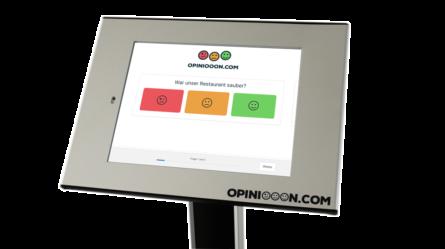 feedback terminal kundenzufriedenheit