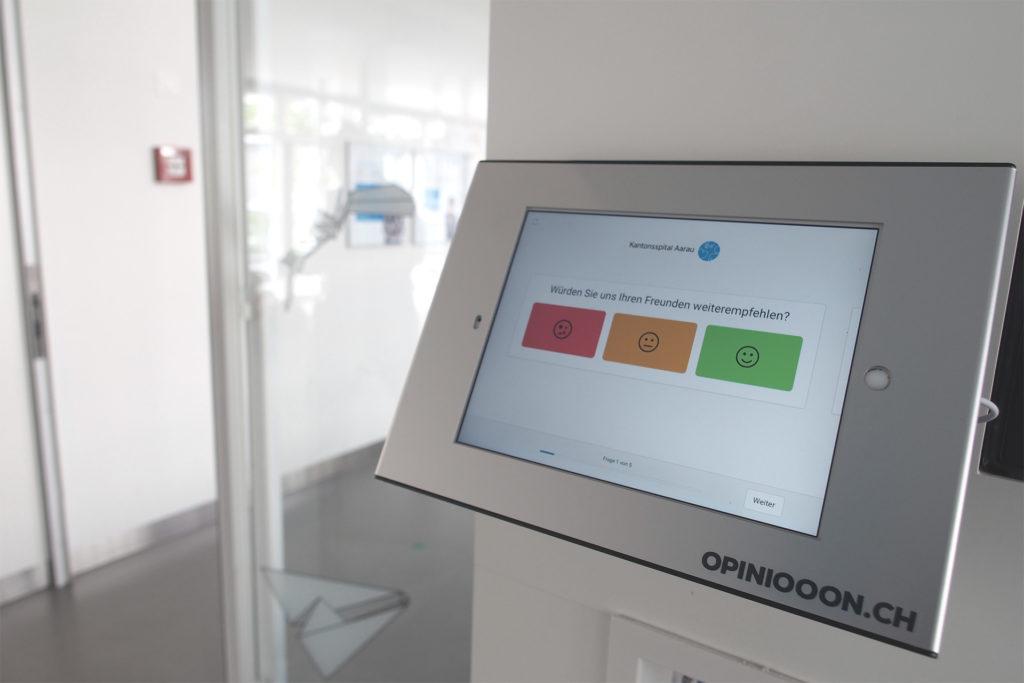 Patientenbefragung ambulant Kantonsspital Aarau
