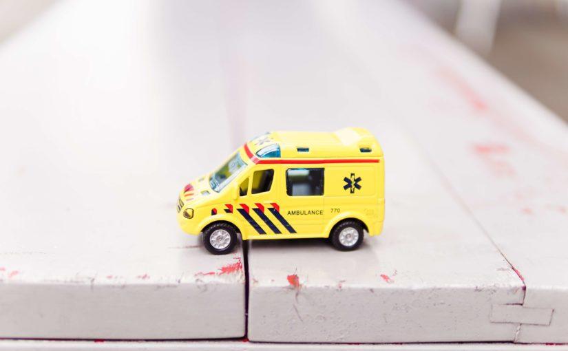Gesundheitsbranche Patientenbefragung digital Krankenwagen