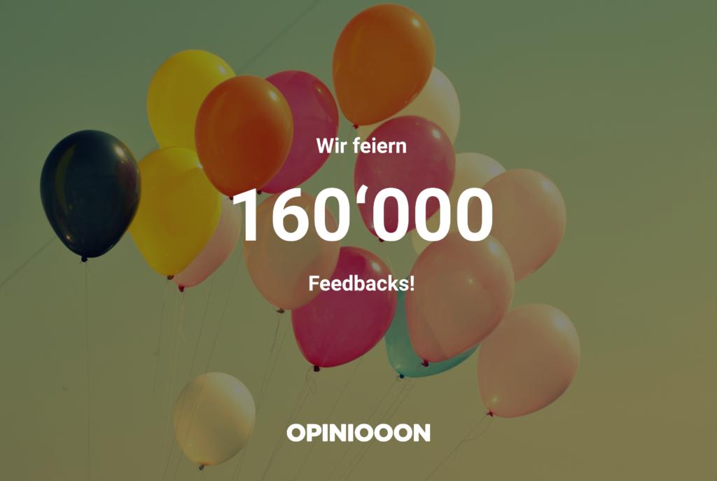 160'000-Feedbacks
